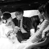 教堂婚礼的婚礼记录