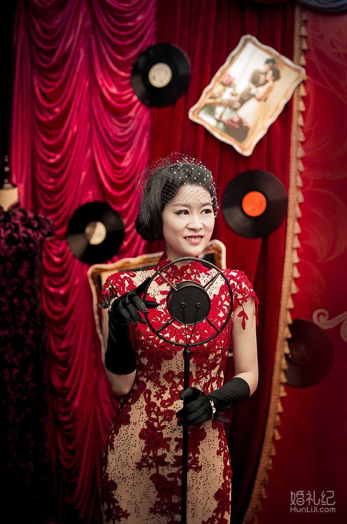 结婚纪�y��yd�&����_民国风婚礼,婚礼摄影师,婚礼纪 hunliji.com