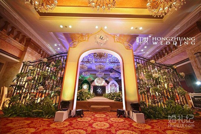 7.15 婚礼场地:海荣大酒店 婚礼主题:l&l