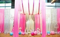 Pink Pink婚礼布置