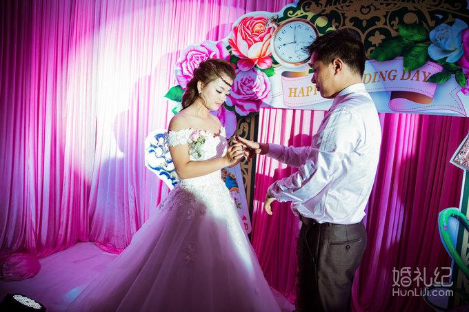 11.15 森林系婚礼,婚礼摄影师,婚礼纪 hunliji.