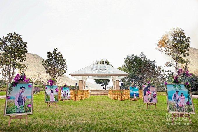 婚礼场地:杭州千岛湖希尔顿渡假酒店