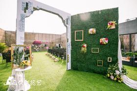 【清新户外婚礼】书与花:文艺气息的盛宴