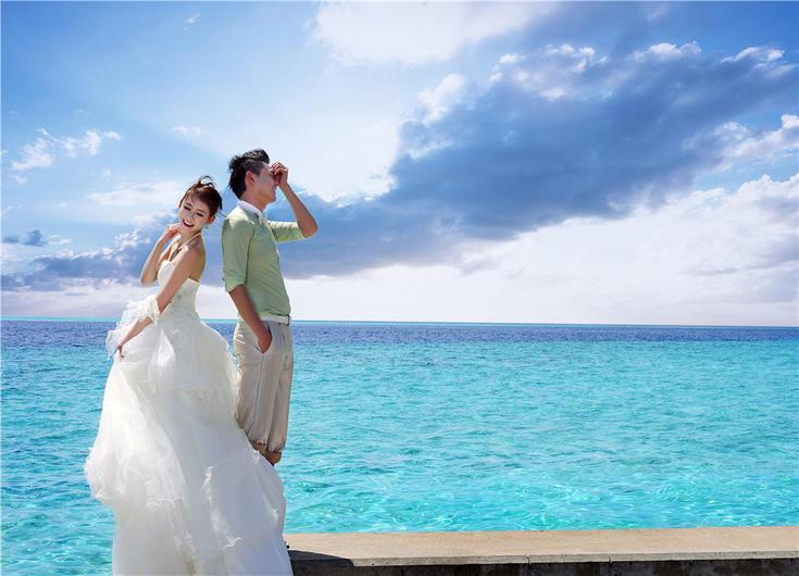 青岛婚纱摄影代拍_青岛婚纱摄影