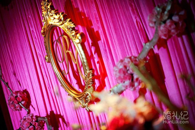 结婚纪�y��yd�&����_吉辰婚礼——玫红色婚礼(r&c),婚礼策划作品,婚礼纪 .