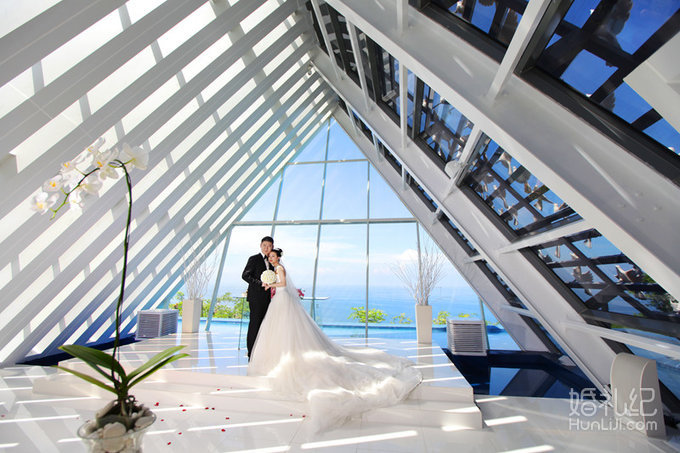 巴厘岛白鸽教堂婚礼