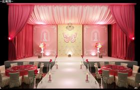 爱情永恒-全新粉色婚礼作品,贴钱征案例