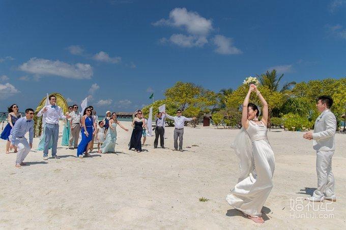马尔代夫海边婚礼
