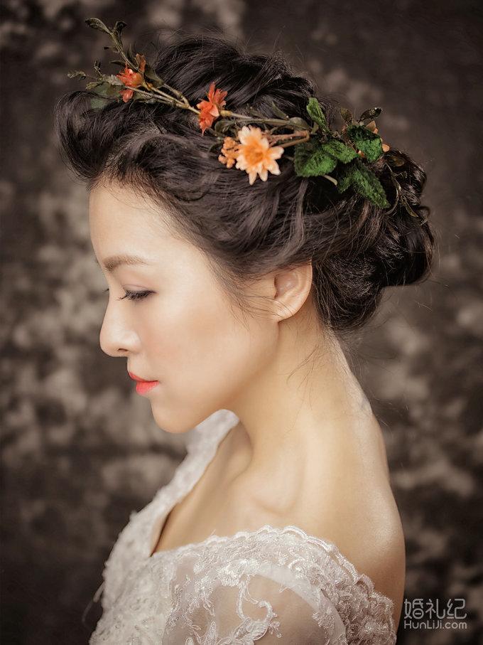 2015年05月韩式新娘妆面造型赏析