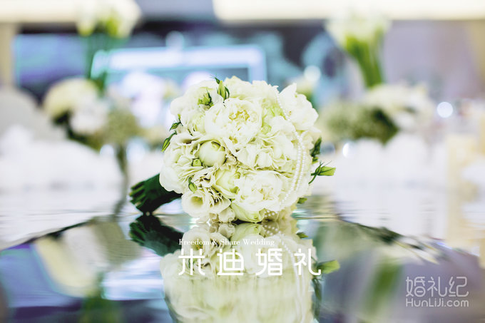 唯美浪漫白色系婚礼