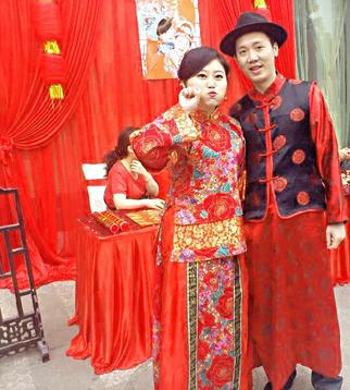 中式新娘造型 1,婚礼化妆师