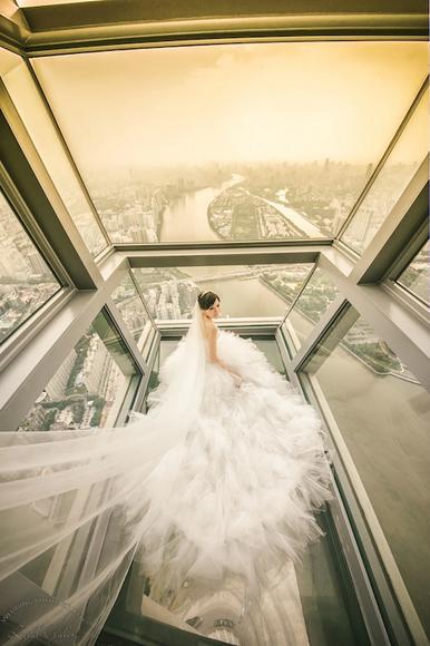 广州塔婚纱