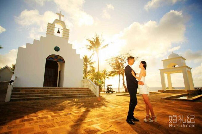 塞班岛马里亚纳教堂婚礼