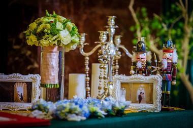 绿光森林系婚礼布置