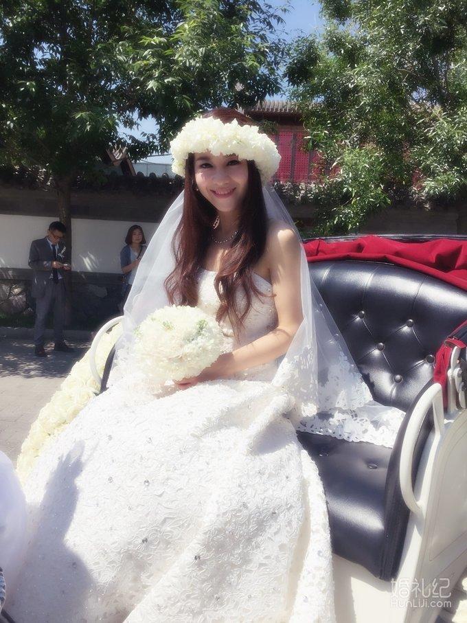 中西结合婚礼,婚礼化妆师