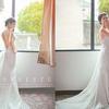 穿着自己设计的婚纱 办一场梦中的草坪婚礼!