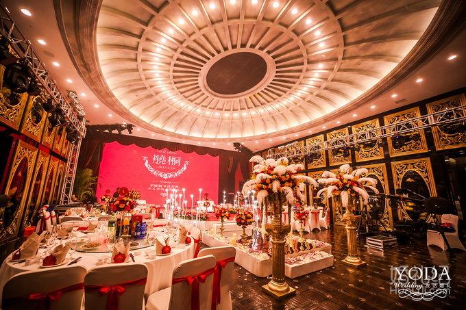 婚礼                 婚礼场地:北京海公馆 婚礼主题:丹凤栖桐 婚礼