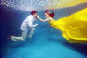 水下婚纱C套系9988元