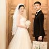 处女座的韩式婚纱照 感觉拍了一场韩国电影