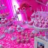 超甜蜜的甜品桌 粉色婚礼办得高大上
