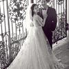 黑白婚纱照,墨色也有别样风情