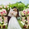 我和萌哥的草坪婚礼 顶着烈日的小清新