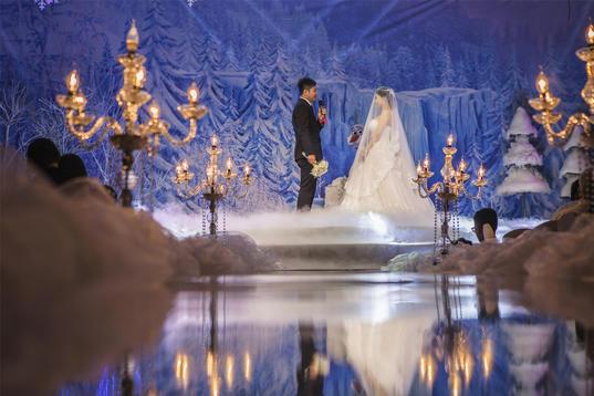 冰雪奇缘主题婚礼
