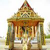 泰国旅拍,我的金灿灿的婚纱照