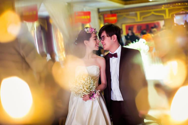 浪漫、纯洁的白色清新主题婚礼-遇见爱