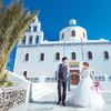 希腊-圣托里尼 婚照旅拍归来 顺便把婚包给办了