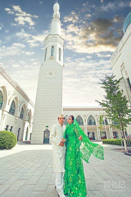 穆斯林婚纱照 | 窦店清真寺