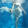 挑战自我!不会游泳尝试水下婚纱照!