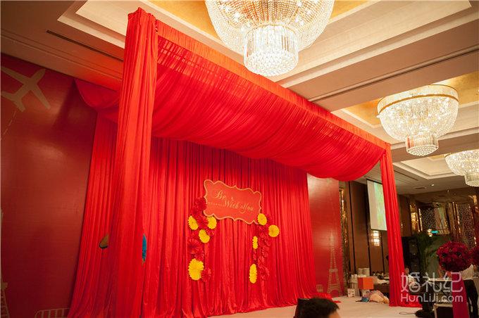 红色复古套餐,婚礼策划公司