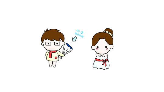 小萌妹系列【全上色版】手绘漫画mv婚礼片头