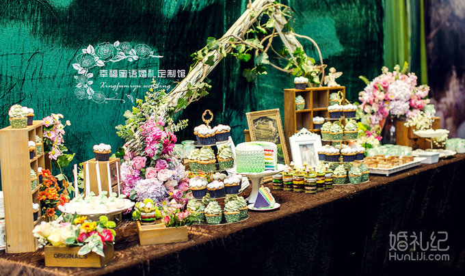 《unicorn garden》爱丽丝森系风婚礼