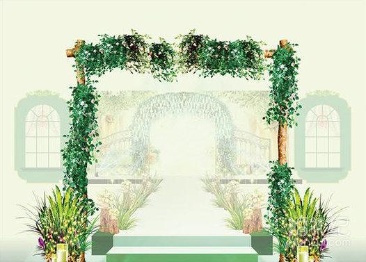 清新森系定制婚礼,婚礼策划公司