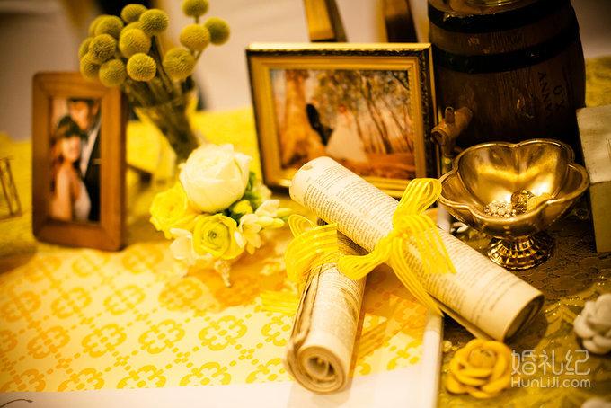 【一颗柠檬】柠檬黄与灰色碰撞的小清新世界,婚礼策划