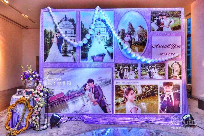游戏婚礼场景手绘