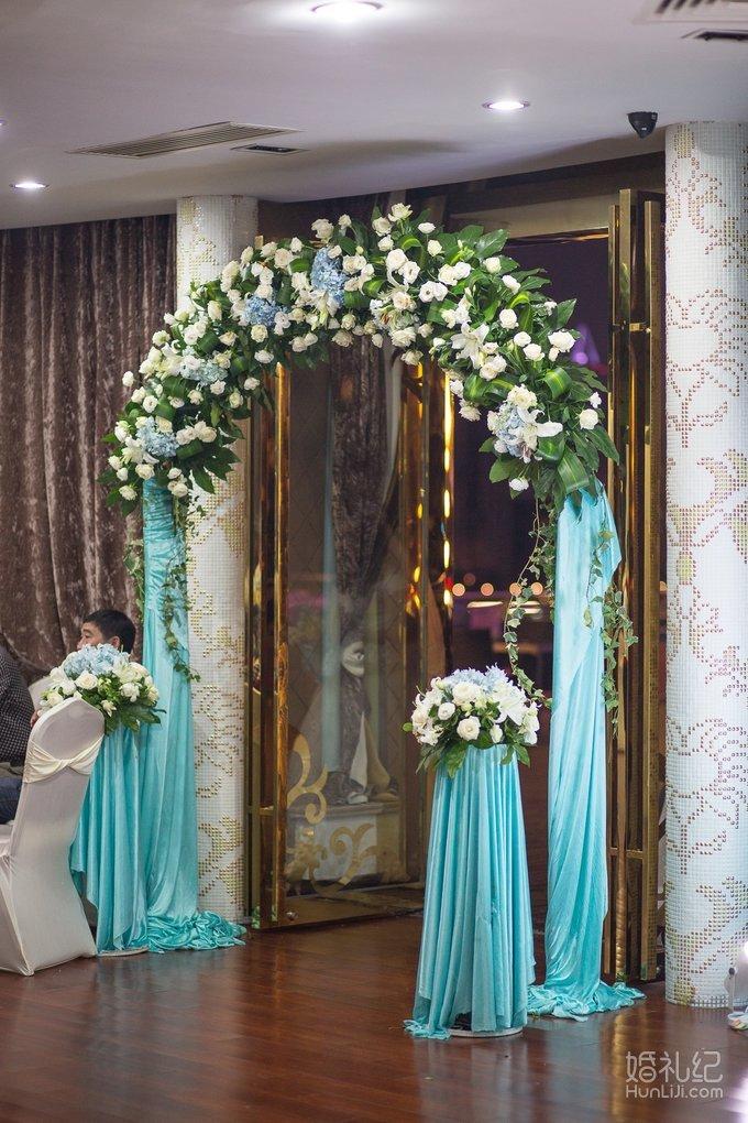 婚礼欧式门头装饰