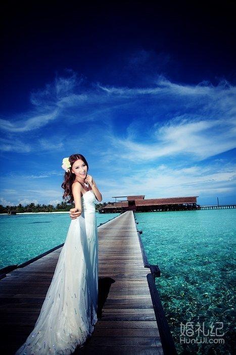 马尔代夫海外蜜月婚纱摄影