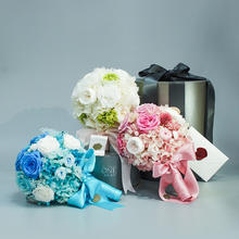 THEONE唯忆 最美的你 新娘手捧花 不凋谢的永生花礼盒