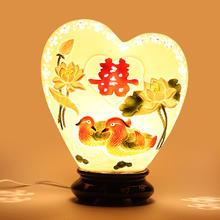 送闺蜜结婚礼物婚庆实用礼品创意高档婚房装饰摆件送朋友新婚台灯