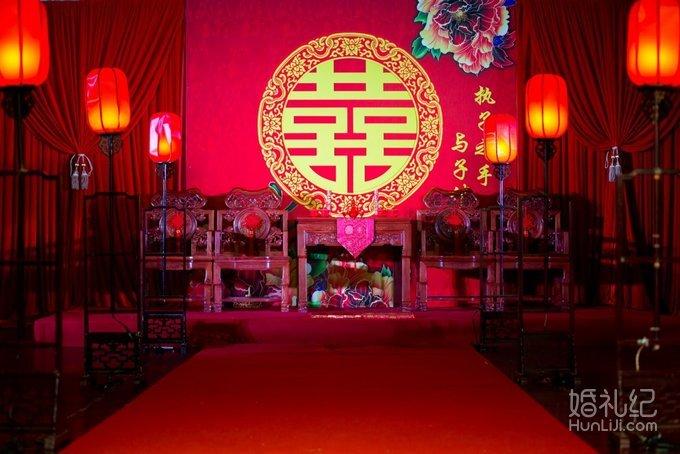 【江林联姻】-中式布置,婚礼策划公司,婚礼纪 hunliji
