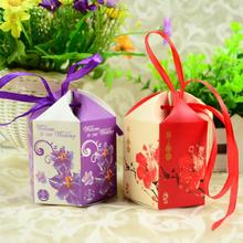 【32元包邮】欧式结婚糖果袋子包装纸盒喜糖盒礼品盒袋