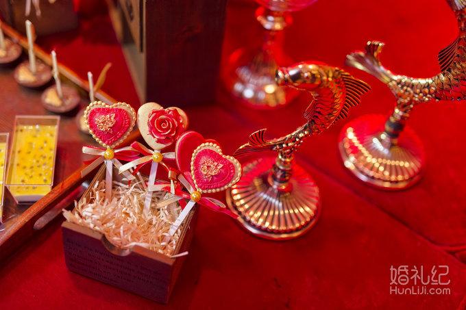 love-欧式金红色婚礼