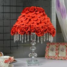 结婚灯台灯卧室婚房婚庆灯饰红色结婚礼物创意生日礼物台灯礼品