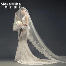 米卡谜卡2016夏季永恒婚纱浪漫新娘收腰双肩鱼尾韩版新娘婚纱