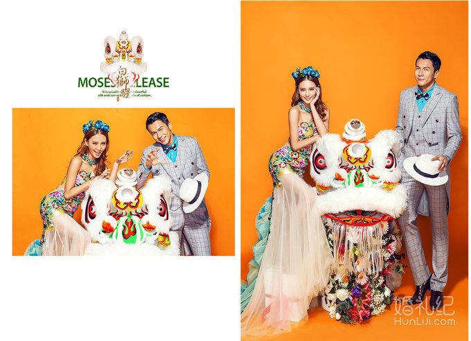 醒狮】中式婚纱照