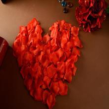 婚庆用品 婚房布置装饰结婚用品无纺布仿真玫瑰花瓣床撒花浪漫