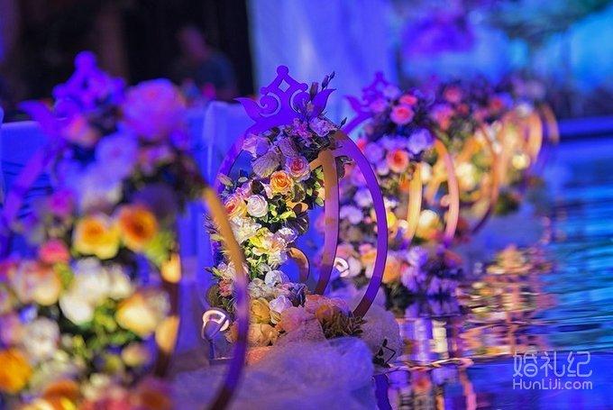 婚庆欧式花背景